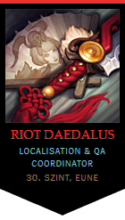 Riot Daedalus on LoLKing